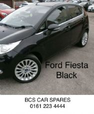FORD  FIESTA    PASSENGERS  SIDE FRONT BLACK   5 DOOR